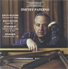 Dmitry Paperno performs Bach-Busoni, Beethoven, Schubert & Brahms