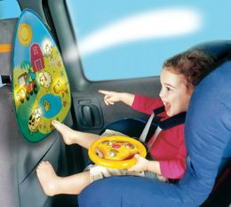 Wonder Wheel Car Seat Toy - Farmland