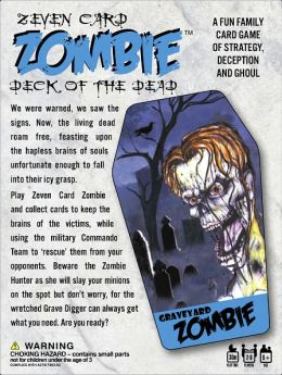 Seven Card Zombie - Deck of the Dead