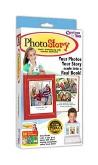 PhotoStory - Your Photos, Your Story, Made into a Real Book