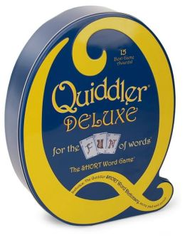 Quiddler Deluxe Tin:B&N Exclusive