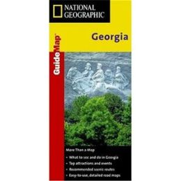 National Geographic GM00602081 Map Of Georgia