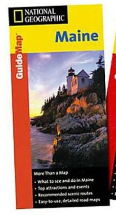National Geographic GM00620260 Map Of Maine