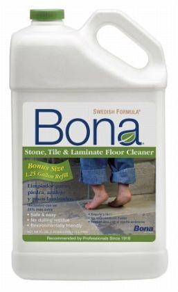 Bonakemi 160 Oz Stone & Laminate Floor Cleaner WM700056002 - Pack of 4