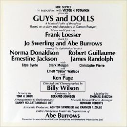 Guys and Dolls [1976 Broadway Revival Cast]