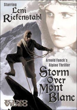 Storm over Mount Blanc