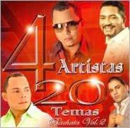 4 Artistas 20 Temas Bachata, Vol. 2