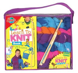 Learn to Knit Set and Book