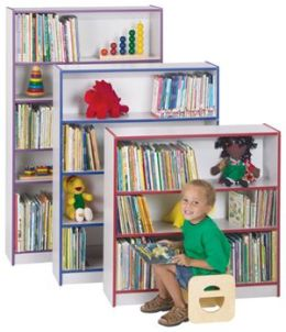 Jonti-Craft 0962JC003 BOOKCASE - 60 INCH HIGH - BLUE