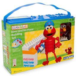 Elmo's World Elmo & His Piano BUILDING Set