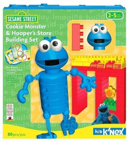 K'Nex Sesame Street Cookie Monster & Hooper's Store Building Set