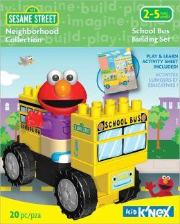 K'NEX Sesame Street Neighborhood Collection--Fire Truck