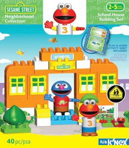 Sesame Street Neighborhood Collection--School House Building Set