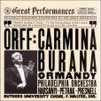CD Cover Image. Title: Carl Orff: Carmina Burana, Artist: Eugene Ormandy