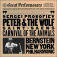 CD Cover Image. Title: Prokofiev: Peter and the Wolf / Saint-Sans: The Carnival of the Animals, Artist: Leonard Bernstein