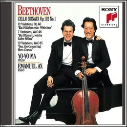 Beethoven: Cello Sonata No. 4, Mozart & Handel Variations