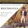 CD Cover Image. Title: Great Concertos of the Masters: Ludwig van Beethoven
