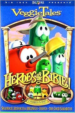 Veggie Tales: Heroes of the Bible-Stand Up, Stand Tall, Stand Strong!