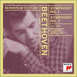 Beethoven: Symphony No. 1 in C Major, Op. 21 & Symphony No. 7 in a Major. Op. 92