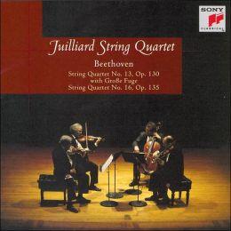 Beethoven: String Quartets Nos. 13 & 16