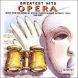 CD Cover Image. Title: Opera: Greatest Hits