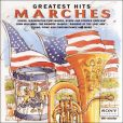 CD Cover Image. Title: Marches Greatest Hits