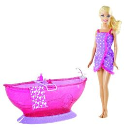 BARBIE Doll and Bath Tub