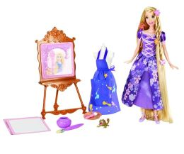 Disney Tangled Royal Artist Rapunzel