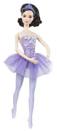 Barbie Princess Ballerina Doll with Purple Dress