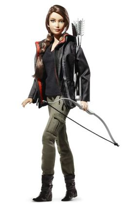 Katniss Hunger Games BARBIE