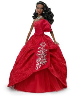 Barbie Collector Holiday Barbie 2012 African American Doll