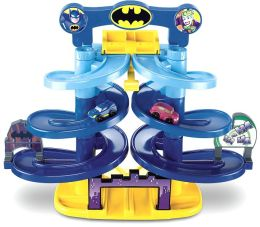 Fisher Price DC Superfriends Batman Spiral Speedway