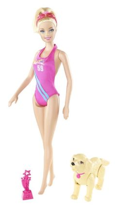 Barbie Team Barbie Feature Swimmer Doll