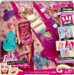 Barbie Hairtastic! Color & Design Salon Doll