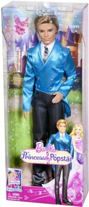 Barbie Princess & The Popstar Prince Liam Doll