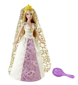 Disney Princess Rapunzel Bridal Doll