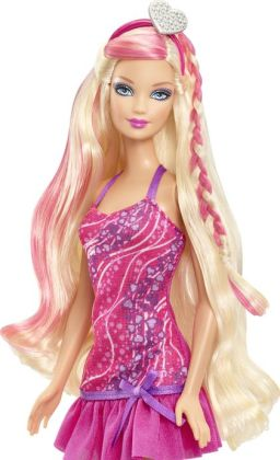 Glam Hair Barbie Doll