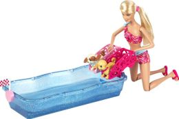 Barbie Swim and Race Pups