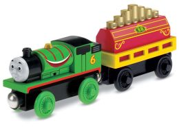 Thomas Wooden Railway Percy's Musical Ride 2 Pack
