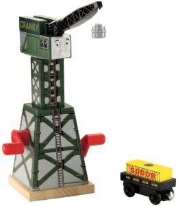 Thomas Wooden Railway Cranky The Crane