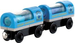 Thomas Wooden Railway Aquarium Car 2-Pack