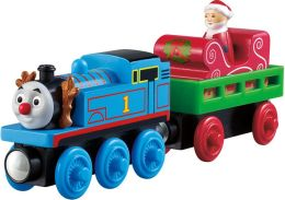 Thomas Wooden Railway Santa's Little Engine