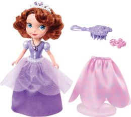 Disney Sofia the First Day to Night Curtsy Doll