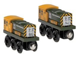 Thomas Wooden Railway Iron Bert And Iron Arr