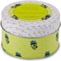 Pineapple Cilantro Retro Tin