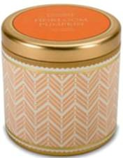Pumpkin Scented Large Candle Tin