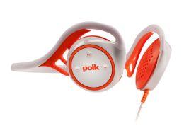 Polk Audio UltraFit 2000 Headphones - White/Orange