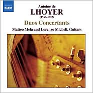 Antoine de Lhoyer: Duos Concertants
