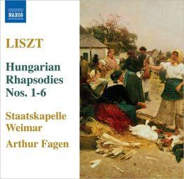 Liszt: Hungarian Rhapsodies Nos. 1-6