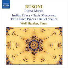 Busoni: Piano Music Vol. 3